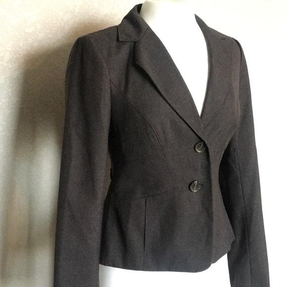 Ann Taylor Jackets & Blazers - Ann Taylor Brown Leopard Lined Blazer size 4